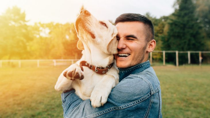 Happiness of Having Friendly Pets at Home